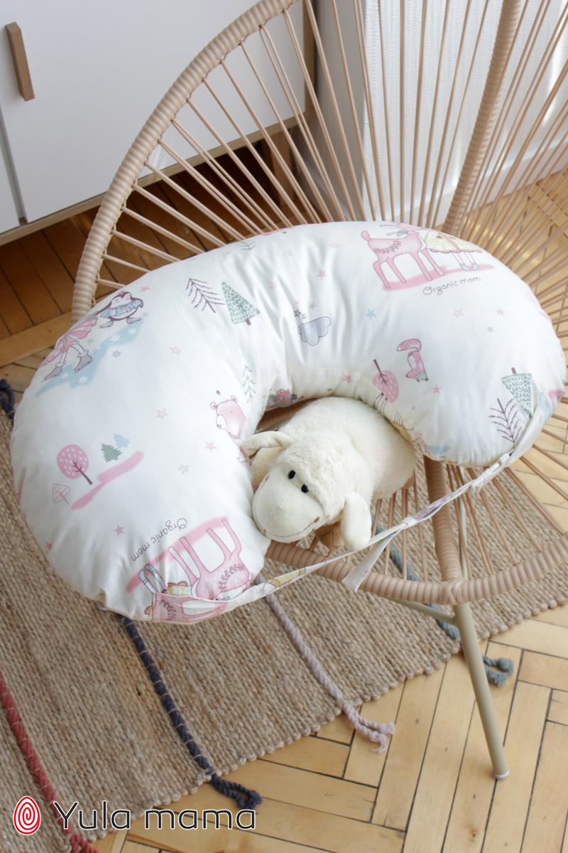 Подушка для кормления девочка молочный фото №1