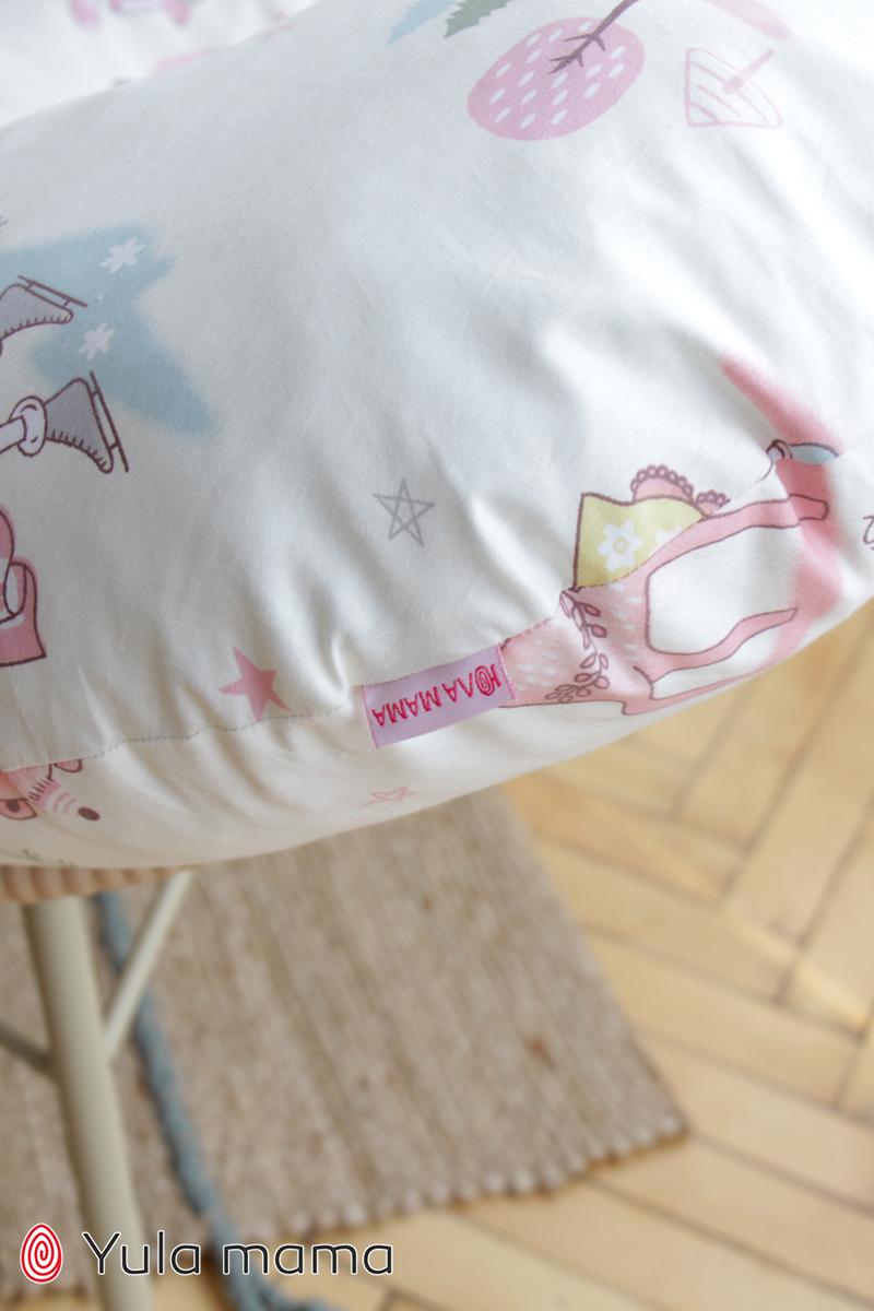 Подушка для кормления девочка молочный фото №3